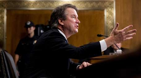 Brett Kavanaugh has become a wedge issue being
