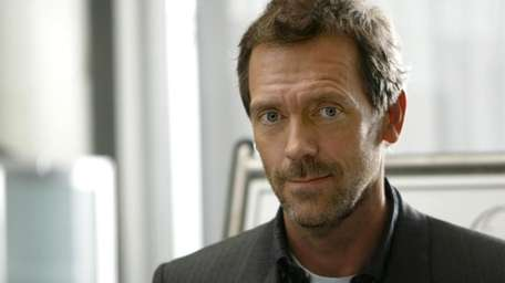 Hugh Laurie is nominated for lead actor in
