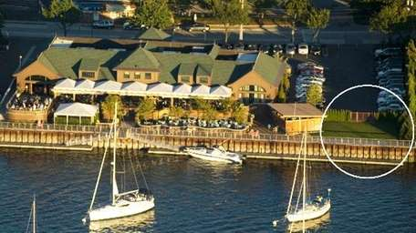 Prime is situated waterside in Huntington.