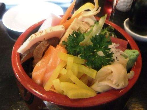 Chirashi at Benkei, Northport