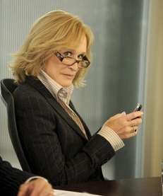 "Glenn Close in her role in ""Damages"""