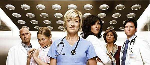 "Nurse Jackie (Showtime) ""Nurse Jackie,"" with Edie Falco"