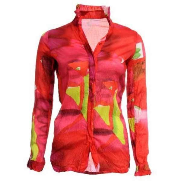 This JNBY paint print shirt is featured at
