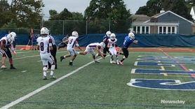 Mepham defeated Calhoun, 14-7, in Nassau II football,