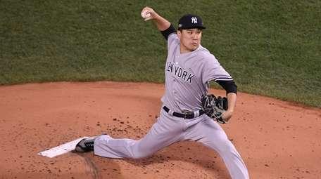 Masahiro Tanaka pitched five innings for the Game