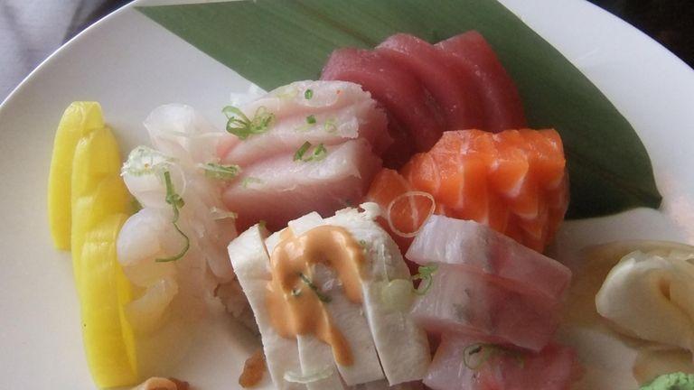 Chirashi at Sawa Sushi in Syosset