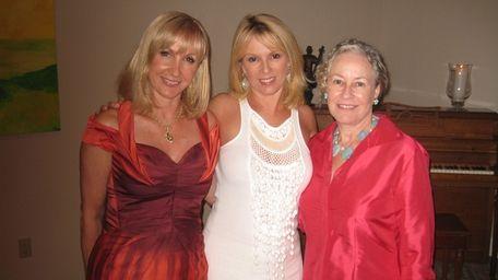 Katlean de Monchy, Ramona Singer and Dede Gotthelf