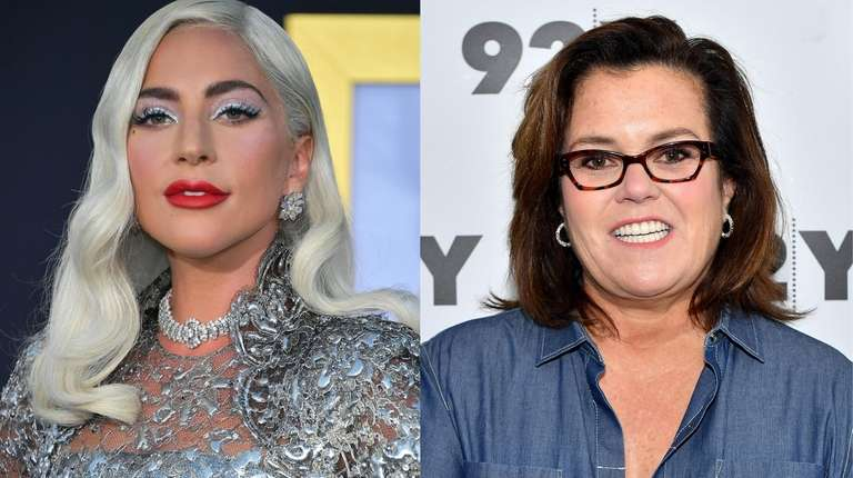 """Could """"Funny Girl"""" starring Lady Gaga, left, as"""