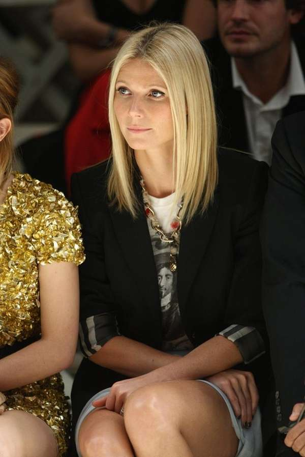 LONDON, ENGLAND - SEPTEMBER 22: Gwyneth Paltrow dressed