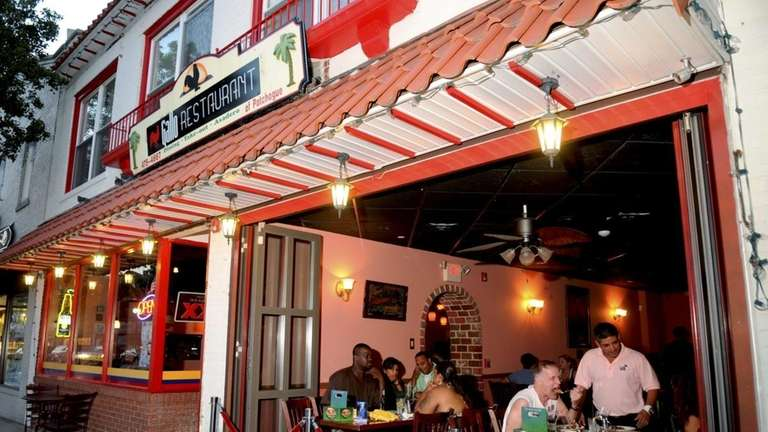 Gallo, a Colombian restaurant in downtown Patchogue, has