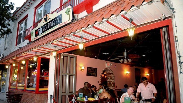 Restaurant Row Main Street Patchogue Newsday