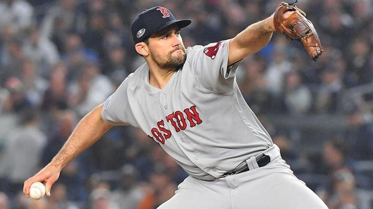 Red Sox postseason hero Nathan Eovaldi is returning