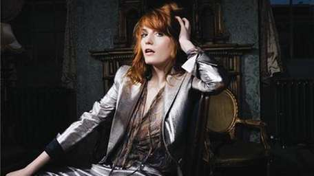 Florence Welch of Florence and The Machine has