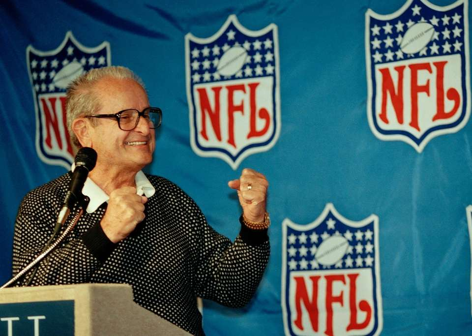 Alex Spanos, who used his fortune from construction