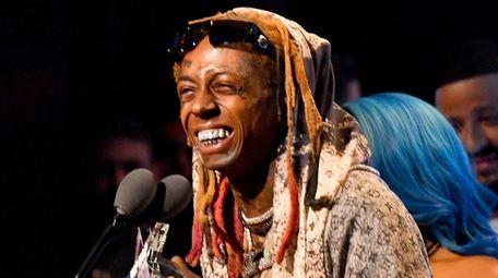 Lil Wayne, at the BET Hip Hop Awards
