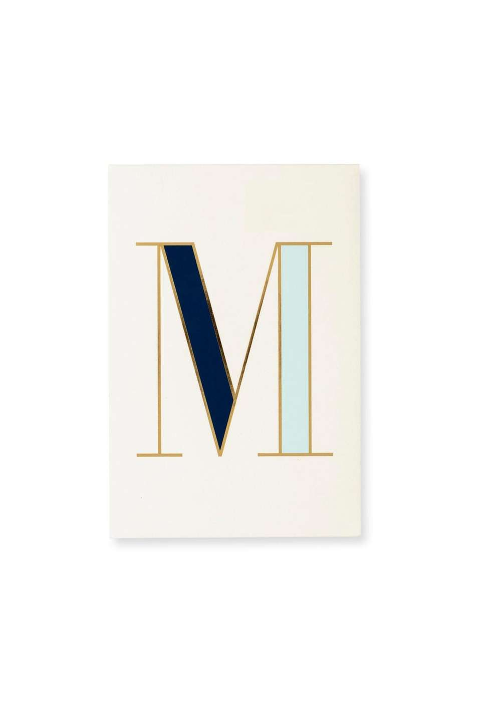 This monogrammed notepad is perfect for teachers and
