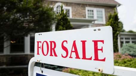 The median home price in Suffolk County rose