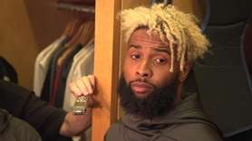 Giants wide receiver Odell Beckham Jr. talks about