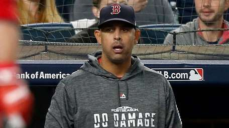 Alex Cora led the Red Sox to 108