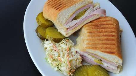 One of the sandwiches served at Max's Kitchen