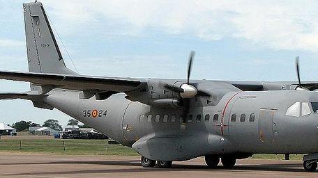 CN-235 OceanEye aircraft