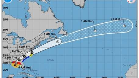 Possible heavy rains from Hurricane Michael are expected