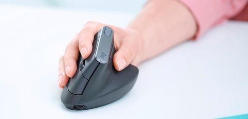 Logitech's MX Vertical advanced ergonomic mouse is wireless.