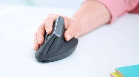 Logitech's MX Vertical advanced ergonomic mouse is wireless.