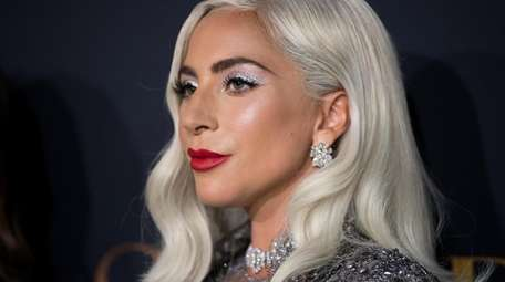 """Lady Gaga attends the premiere of  """"A"""