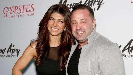 Teresa Giudice and Joe Giudice at Mount Airy