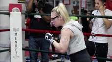 On Oct. 27, 2018, Heather Hardy will fight