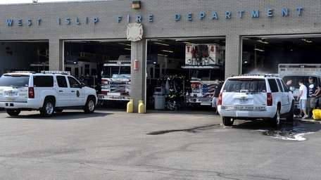 The West Islip Fire Department. (Aug. 4, 2010)