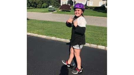 Kidsday reporter Mirabella Altebrando takes a ride on