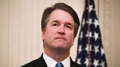 Supreme Court Justice Brett Kavanaugh attends a ceremonial