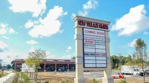 New Village Shopping Center is being built at