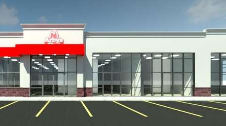 Arby's is one of the early tenants scheduled