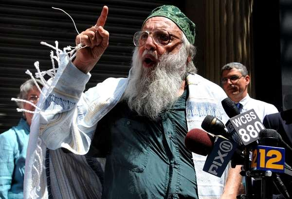 Rabbi Arthur Waskow joined other rabbis and Jewish