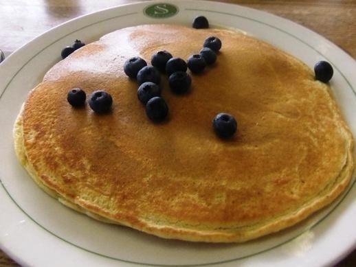 Blueberry pancakes at JT's Corner Cafe, Nesconset