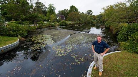 Brightwaters Mayor John Valdini, seen on Tuesday, wants