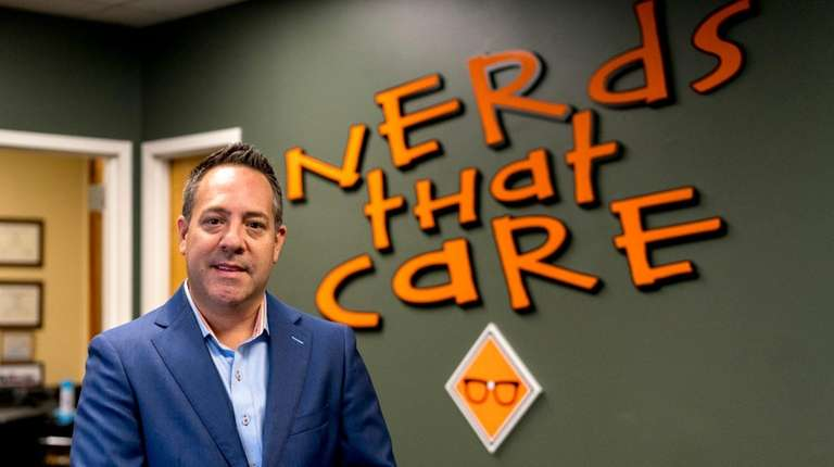 James Rocker, CEO of Nerds That Care, in
