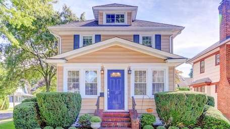 This Colonial, listed for $668,000, includes four bedrooms