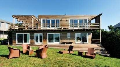 A newly renovated Montauk home designed by the