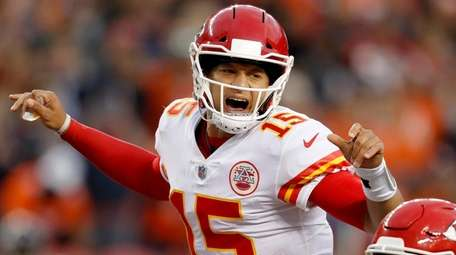 Patrick Mahomes and the Chiefs face their biggest