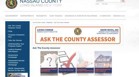 The website AskTheCountyAssessor.com allows residents to search specific