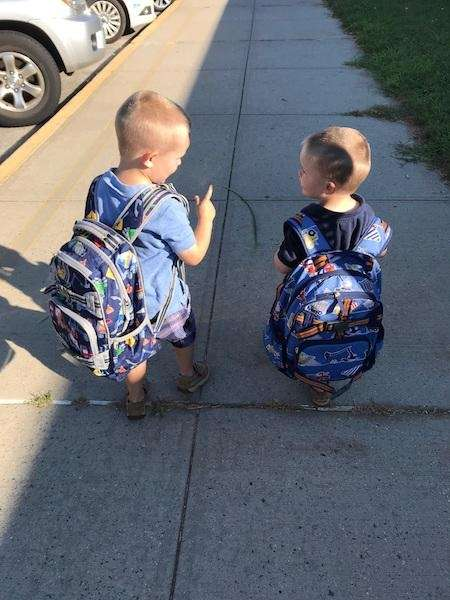 brothers of to school