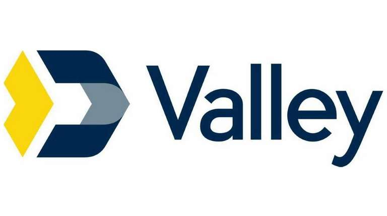 Valley National Bank's new logo will be placed