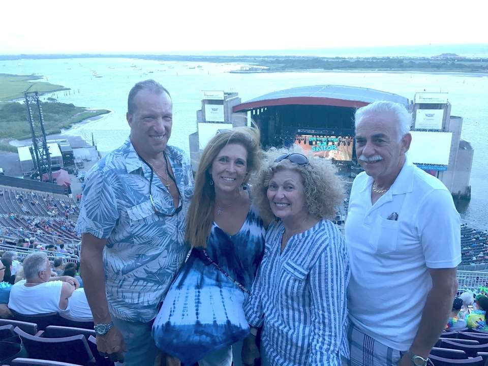 Lisa & John Schroeder with friends Camille &