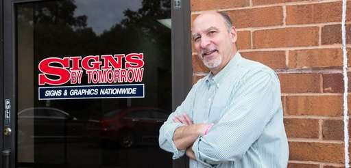 Ron Facchiano, president of Signs By Tomorrow Commack-Hauppauge,