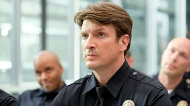 "Nathan Fillion stars in ""The Rookie"" Tuesday at"