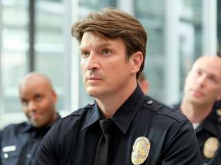 """Nathan Fillion stars in """"The Rookie"""" Tuesday at"""